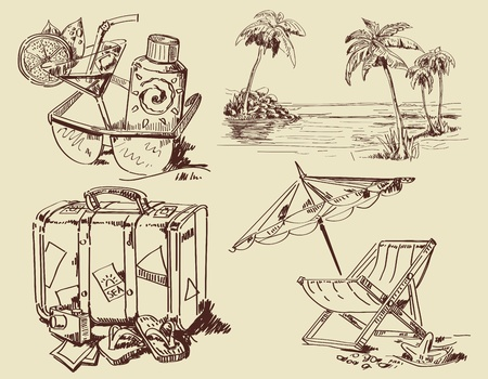 lemonade: summer lounge doodles