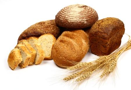 pone: bread studio isolated on white