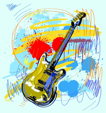 musical instrument: Abstract Guitar