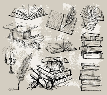 book store: books_2 (0). jpg Vectores
