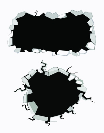 bullets: Set of cracks