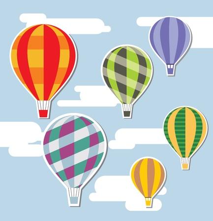 hot air balloon: balloons background