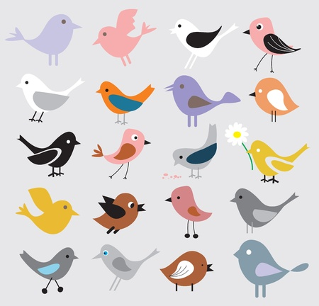 birds background Vector