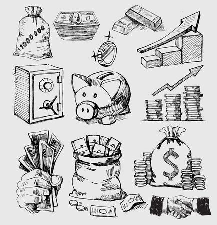 Bag of gold coins: nền tảng kinh doanh Hình minh hoạ