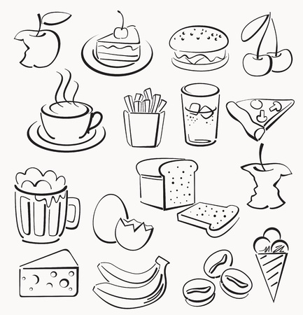 cheese cake: food icons