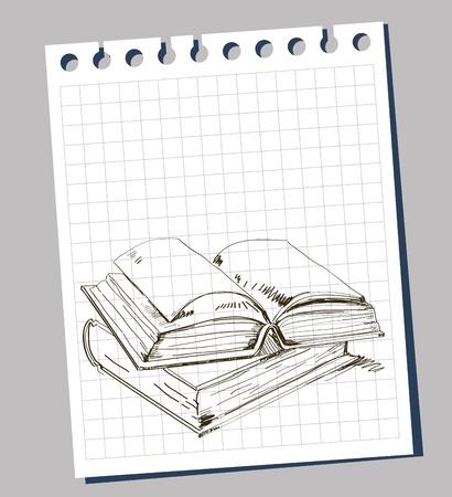 open book Stock Vector - 11813607