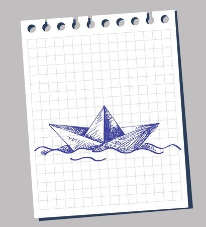 paper boat: paper boat