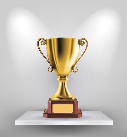 trophy award: Trofeo de Oro