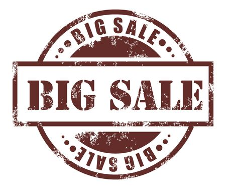big sale: Big sale stamp