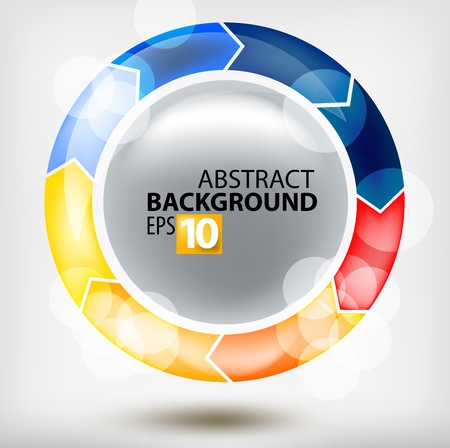 round abstraction Stock Vector - 11917327