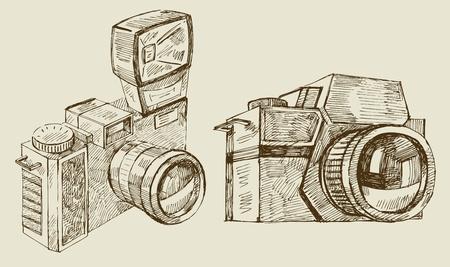 cameras Stock Vector - 12284306