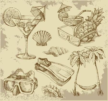 pi�as: Garabatos de verano sal�n