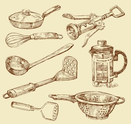 reibe: Kochen Doodles