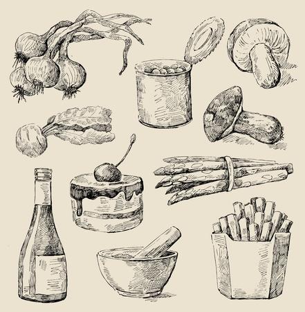funghi: set da cucina
