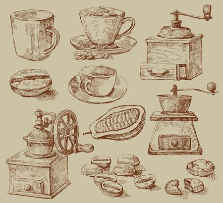 chicchi di caff�: caff� sfondo