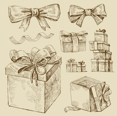 letter box: set of gift boxes