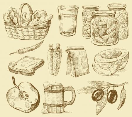 melon: seamless pattern-hand drawn Illustration