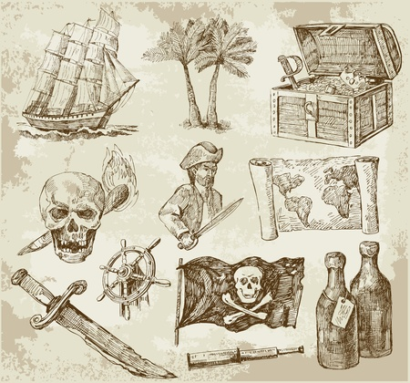 gold treasure: pirate collection