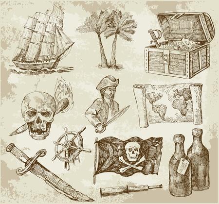 fernrohr: Piraten-Sammlung
