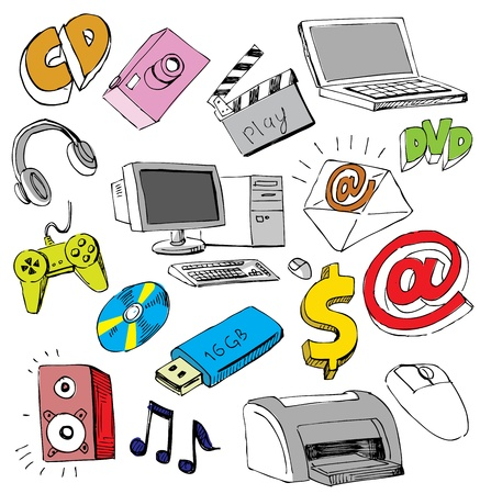 Computer icons Stock Vector - 13515825