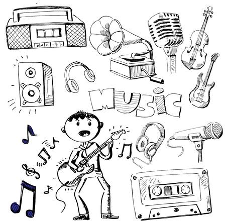 canta: musica insieme Vettoriali