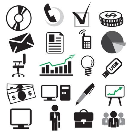 business set Stock Vector - 13592681