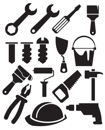 tools set Stock Vector - 13649792