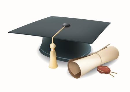 mortero: graduación de la tapa Vectores