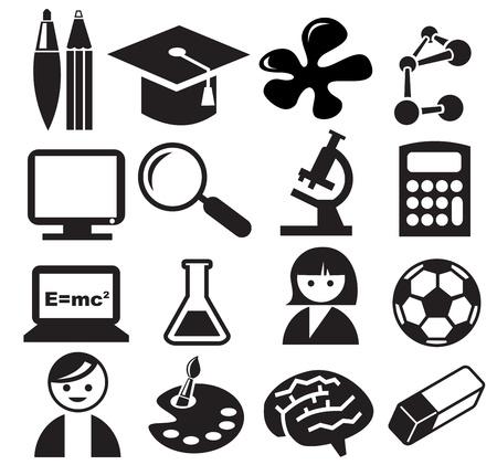 inkblot: Education icons