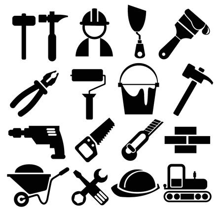 construction icon: construction set