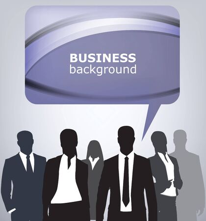 business people Stock Vector - 13832866