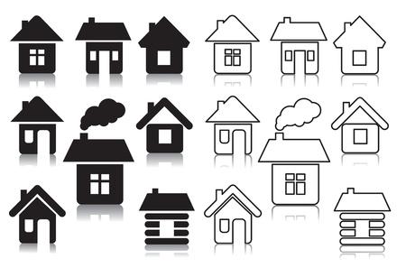 icono inicio: casas