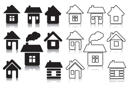 home group:  houses Illustration