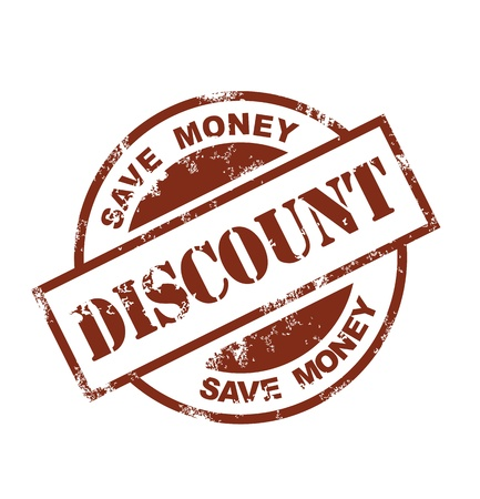 stamp of paid: discount stamp
