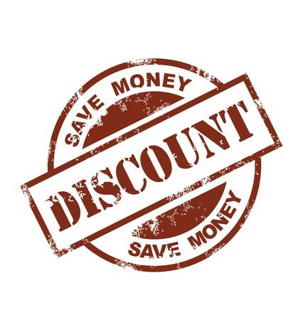 discount coupon: discount stamp