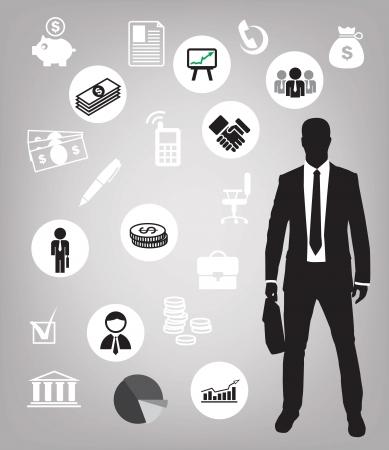 m�nner business: Business-Hintergrund