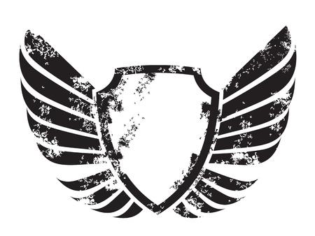 гребень: крылатого гребня Иллюстрация
