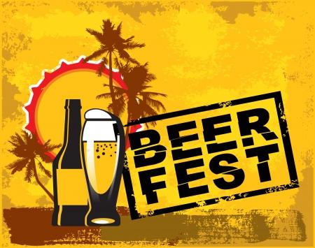 beer fest Vector