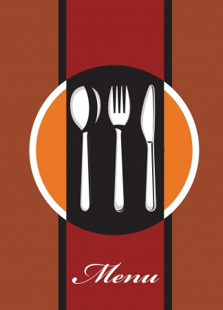formal place setting: menu design