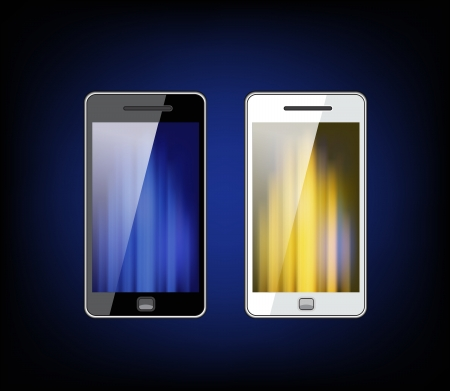 Smartphone with space for text Stock Vector - 14095691