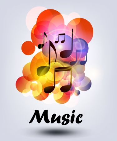melody: vector  music