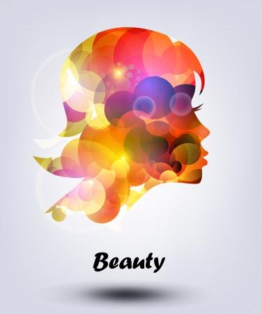 feminize: vector girl face