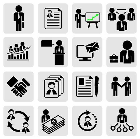 corporate hierarchy: Affari icona