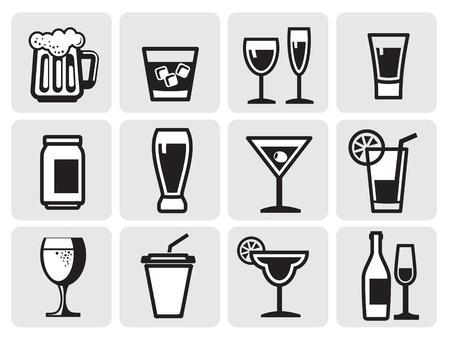 icône boissons