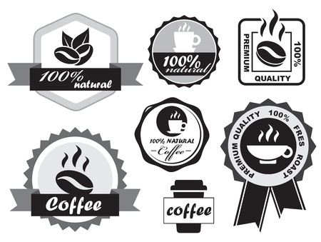 restaurant sign: Coffee Labels
