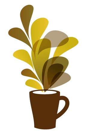 Coffee cup Stock Vector - 14302980