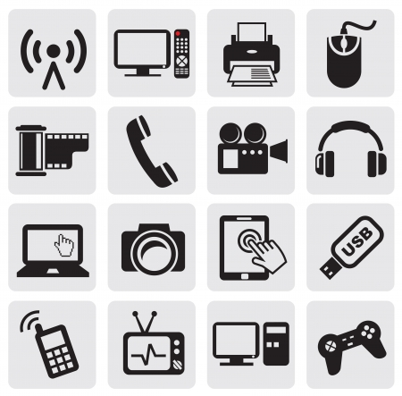 communication icons: Technology Icon