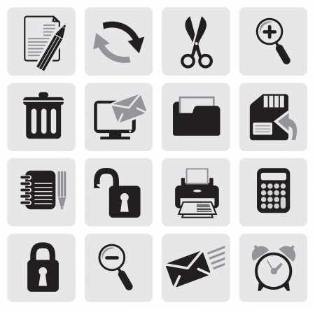 Web Icons Stock Vector - 14302975
