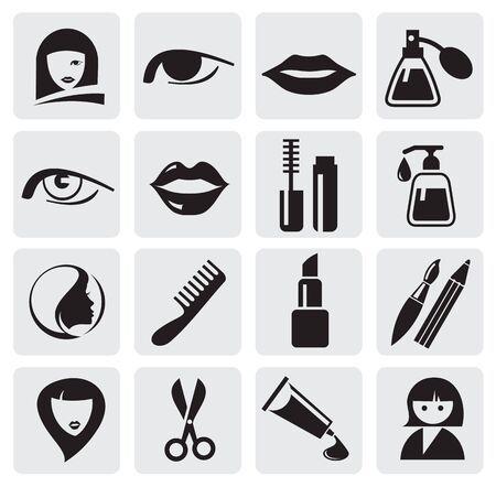 beauty icons Stock Vector - 14302999
