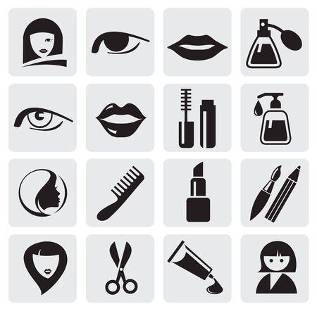 make up brush: iconos de belleza